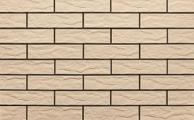 Клинкерная плитка Cerrad Krem 65x245 рельефная