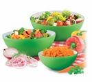 Пиала-салатник круглая зеленая, 20 см Bradex TK 0134