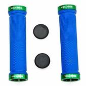 Грипсы с зажимами Vinca sport H-G 119 blue/green