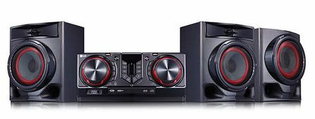 Музыкальный центр Hi-Fi LG CJ45