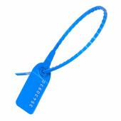 Пломбы пластиковые номерные УП-255, синие {55889} (1000 шт.)