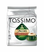 Капсулы Tassimo Jacobs Cappuccino, Тассимо Якобс Каппучино 8+8 шт