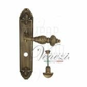 Дверная ручка на планке Venezia Lucrecia PL90 матовая бронза wc