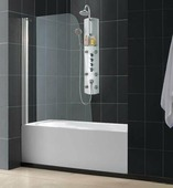 Стеклянная шторка для ванны RGW SC-36 80 см