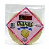 Снеки PAPAD PLAIN Bharat Bazaar (Папады без добавок, Бхарат Базар), 200 г.