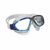 Очки для плавания Vista прозрачные линзы AQUA SPHERE (голубой/синий)