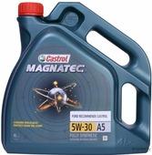 Моторное масло Castrol Magnatec 5W30 A5 / 15583D (4л)