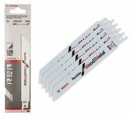 Пильное полотно (5шт) для сабельной пилы Flexible for Wood and Metal дерево металл S 922 HF 150/100-19-0.9Bosch (2608656016)
