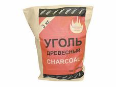Уголь березовый, 3 кг