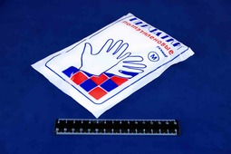 Перчатки одноразовые ПНД М (100).3802/8