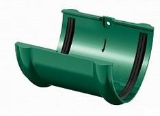 Соединитель водосточного желоба Технониколь D-125, Зеленый