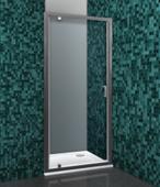 Стеклянная душевая дверь Roltechnik Lega Line LLDO1/80 (прозрачное)