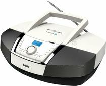 Портативная аудиосистема BBK BX519BT белый/черный