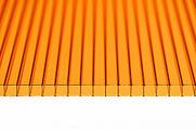 Поликарбонат сотовый Ultramarin Оранжевый 10 мм