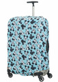 Чехол для чемодана большой Samsonite 47C*002 Travel Accessories Luggage Cover L *01 Mickey/Minnie Blue