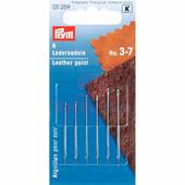 Иглы для кожи с трехсторонним острием 3-7 6 шт Prym 131259