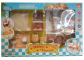 HYQ Набор игровой Ванная комната Happy Family