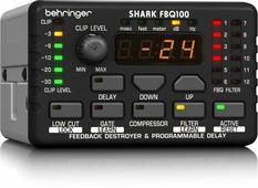 Behringer FBQ100 Подавитель обрат.связи,один канал,встроенный микр. предусилитель, линия задержки