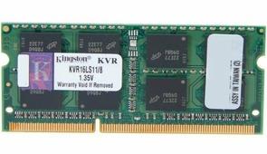 Оперативная память для ноутбука 8Gb Kingston KVR16LS11/8 1600 PC-12800