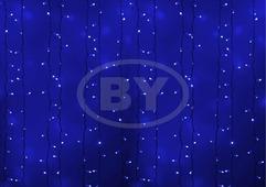 Светодиодная занавес Neon-night 2*3 м синий, прозрачный ПВХ