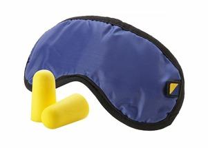Комплект из маски для сна и берушей Travel Blue TB_451_BLU Comfort Set Blue