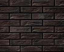 Декоративный искусственный камень РокСтоун Кирпич декоративный 1617п, Черный магнезит