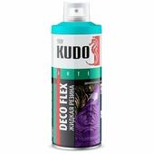 """Жидкая резина KUDO """"DECO FLEX"""", голубой, аэрозоль, 520 мл"""