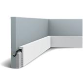 Плинтус напольный из дюрополимера Orac Decor SX179 F гибкий