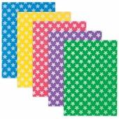 Цветная пористая резина для творчества (пенка в листах), А4, 210х297 мм, BRAUBERG, 5 листов, 5 цв., рис. из зв