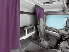 Комплект автоштор Эскар Blackout - auto SK, фиолетово - сиреневый, 2 шторы 120 х 160 см, гибкий карниз 3 м