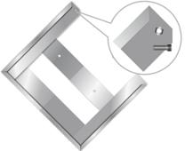 Моспромзнак Карман для знаков 300 х 300 мм