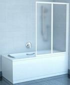 Шторка на ванну Ravak VS2 105 полистирол white+Rain