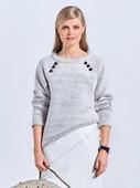 Электронная выкройка Burda - Пуловер с руквами реглан 114 B