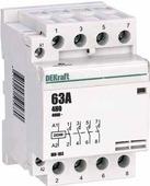 Контакторы модульные Schneider Electric Модульный контактор 4НО 40А 230В МК-103 DEKraft Schneider Electric, 18081DEK