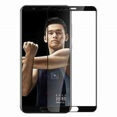 Противоударное защитное стекло с полным клеем Full Glue Screen Cover 0.3mm черное Huawei Honor View 10