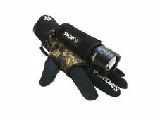 Держатель подводного фонаря на камуфляжной полуперчатке Sargan Glove Lamp-holder Спрут 2.0