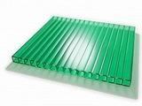 Поликарбонат сотовый Berolux Зеленый 8мм