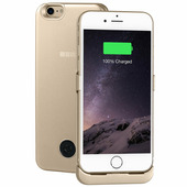 Чехол-аккумулятор 3000мАч Li-Pol для iPhone7/8 Gold