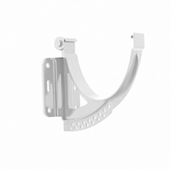 Кронштейн (держатель) водосточного желоба Альта-Профиль Стандарт D-115, Белый