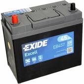 Автомобильный аккумулятор Exide Excell EB457 (45 A/h), 330A L+