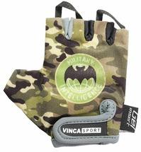 Велоперчатки детские Vinca sport VG 951 Military