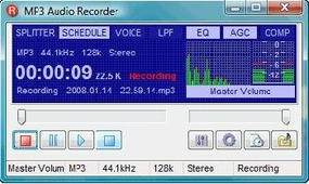 MP3 Audio Recorder 1.1
