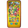 Игрушка музыкальная рыжий КОТ Умный телефончик Любимые зверята (ИМ-9005)