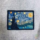 Нашивка на одежду Ван Гог