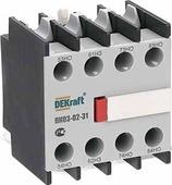 Приставка контактная фронтальная, доп.контакты 3НО+1НЗ, ПК03-02-31 DEKraft Schneider Electric, 24106DEK