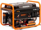 Генераторы и электростанции Генератор Daewoo Power GDA 3500E