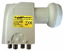 Спутниковый конвертер GoldMaster GM-244 (универсальный для мультисвитчей)