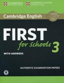 Cambridge English. First for Schools 3. Student's Book with Answers (+ Audio CD)