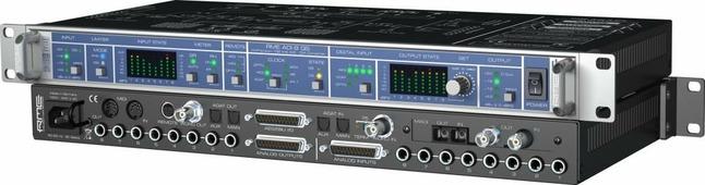 """RME ADI-8 QS - 8 канальный конвертер с пультом ДУ, 24 Bit / 192 kHz, Remote Controllable AD/DA, 19"""", 1U, I64 MADI карта - приобретается отдельно"""