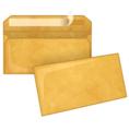Крафт конверт, DL (110*220мм), стрип-лента, клапан прямой. Конверты - в упаковке 1000 шт.